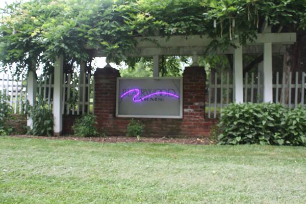 Blairwood Farms entrance