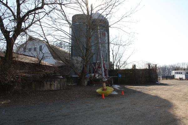 Farm structure at Blairwood Farms